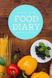 The Daily Grind Food Diary One Bite At A Time Track