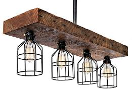 industrial chic lighting. Wooden Farmhouse Light Rustic Decor Chandelier \u2013 Reclaimed Wood From Early  1900s - Great Industrial Chic Industrial Chic Lighting N
