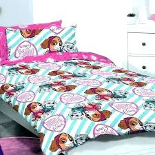 skye pink toddler 4pc paw patrol comforter set twin bed sheets bedding toddler
