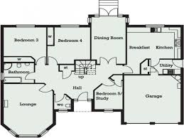 5 bedroom floor plans. Five Bedroom Plan Image Result For Floor Plans Bungalows Bungalow 5 A