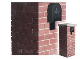 brick mailbox flag. Simple Brick Brick Mailbox Kit Diy Flag Inside