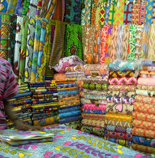 Quilting in Exotic Places: SAQA Member Paula Benjaminson Quilts ... & Quilting in Exotic Places: SAQA Member Paula Benjaminson Quilts and Shops  for Fabric in West Africa (GIVEAWAY!) Adamdwight.com