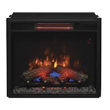 classicflame 23 74 in black electric fireplace insert