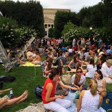 the popular jazz in the garden summer concert series returns to the national gallery of art s sculpture garden on friday jennifer beeson gregory the