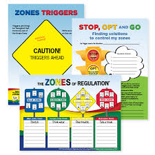 Zones Of Regulation Chart Socialthinking The Zones Of Regulation A Curriculum