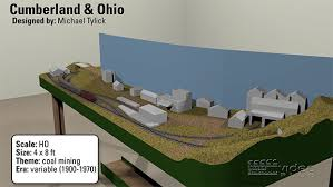 3d track plans the 4x8 ho scale cumberland ohio 3d track plans the 4x8 ho scale cumberland ohio