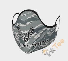 u s air force veteran face mask