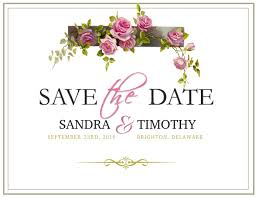 Save The Date Template Postermywall