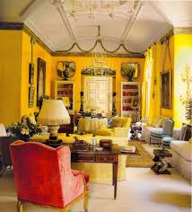 Interior:Dark Yellow Living Room Wall Color Moroccan Themes Wall Color Idea  Dark Yellow Living