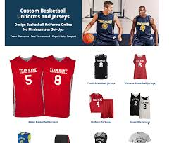 Design Your Own Football Uniform For Fun Where To Order Custom Basketball Jerseys For Your Team