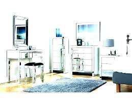mirror bedroom sets posh mesmerizing glass set mirrored furniture black furnitur