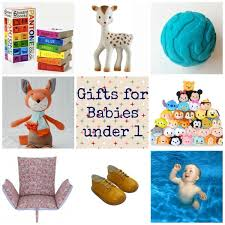 2015 gift guides :: Gifts for babies under 1 year old via Toby \u0026 Roo Christmas - and