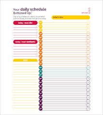 hourly agenda hourly schedule template 11 free sample example format