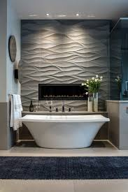 sage green fireplace wall ledge bathroom contemporary with contemporary mosaic tiles