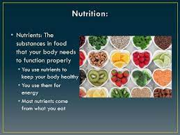 Nutrition Lecture ppt download