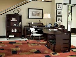 Office:Luxury Looking Victorian Country Style Office Decor Elegant Country  Office With Patern Rug Idea