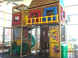 Image result for fast food restaurant play areas
