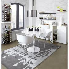 Odyssey White Dining Table Dining Room White Dining Table Tulip