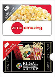 25 Amc Theaters Regal Entertainment Group Gift Card Email