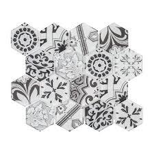 morris block 10 3 8 in x 12 in x 6 mm glass mosaic tile