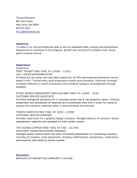 Resume Examples Customer Service Manager Fast Online Help