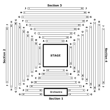Act Theatre Seating Chart Seattle Marriot Seating Chart Theatre In Chicago