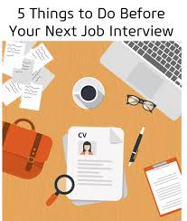 5 Things To Do Before Your Next Job Interview Antal India