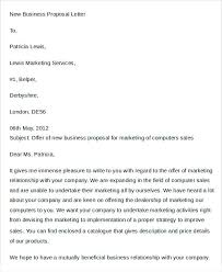 Sample Business Proposal Letter For Services New Sending Yakult Co