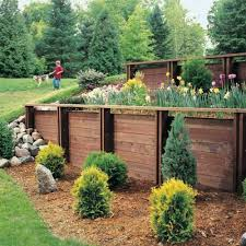 Small Picture wood retaining wall design example Home Design Ideas