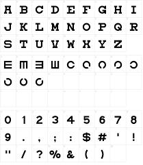 Eyechart Font Download