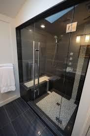 light walls dark showerfloor tiles sparkly accent tiles in vertical stripe shower floor tile ideas s12 dark