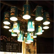 repurposed lighting fixtures. These Are Heinz Bean Cans Repurposed As A Memorable Light Fixture That Fits Right Into This Diner In Helsinki Finland With Lighting Fixtures P