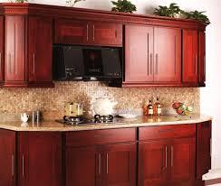 Kitchen Design Dark Cherry Cabinets warm kitchen colors for cherry