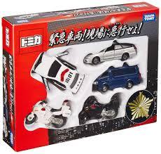 Takara Tomy Tomica Gift Set Emergency Vehicle Diecast Toy Car ...