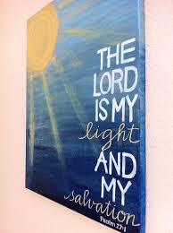 reserved for kyle the lord is my light and my salvation bible verse art made to order painting on bible verse wall art canvas with 181 best worship to my lord images on pinterest frames wooden