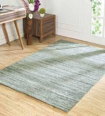 geometric pattern wool 4x6 feet hand loom carpet by jaipur rugs