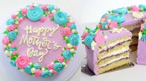 How To Make A Mothers Day Cake Easy Cake Message Hack Recipe