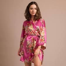 Kimono Plus Size Silk Robe Plus Size Satin Robe Plus Size