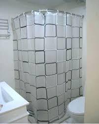 corner shower ideas curtain. Modren Shower Corner Shower Curtain Rod Designs  Ideas In
