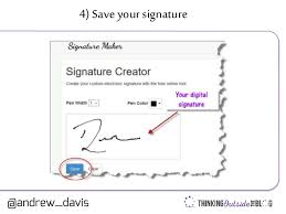 how to create online signature tutorial how to create a digital signature quickly to sign documents
