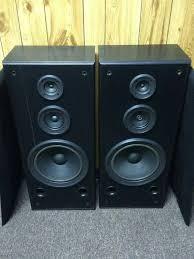 vintage technics speakers. very loud home floor speakers, vintage, technics sb-a35 vintage speakers n