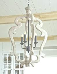 distressed white wood chandelier white wooden chandelier white wood chandelier chandelier amusing intended for distressed wood