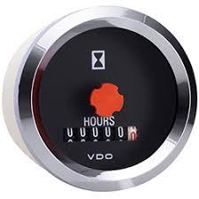marine hourmeter vdo marine vision chrome hour meter vdo marine vision chrome hour meter
