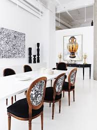 inspirational black and white dining room chairs 25 for table prepare 16