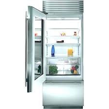 refrigerator glass door home image of small under counter