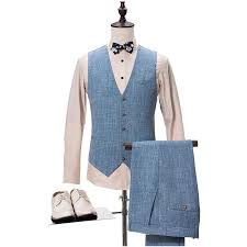 Paris Blues Size Chart The Scientifique Blue Linen Suit