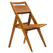 folding chair by lina bo bardi brazil 1950s