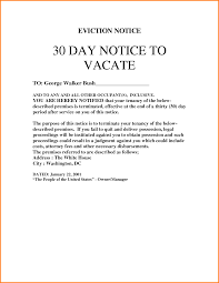 Eviction Notices Template 100 100 day eviction notice template cashier resume 22