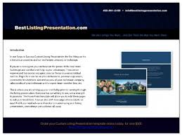 Sales Presentation Template Adorable Download Free Best Real Estate Listing Presentation For Ipad Top