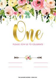 Printable Birthday Invitation Layout Download Them Or Print